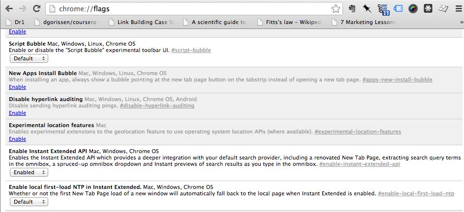Extended API