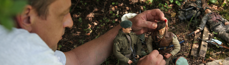 Hogencamp in his world, Marwencol